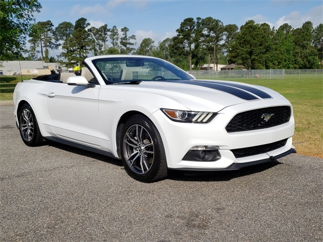 Pre Owned 2017 Ford Mustang Ecoboost Premium Rwd 2d Convertible